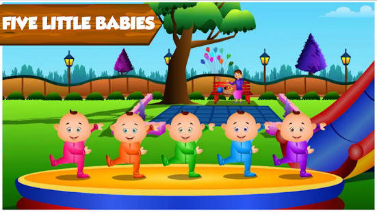 Kids Top Nursery Rhymes Videos - Offline Learning FiveLittle_v7.1 Screenshots 6