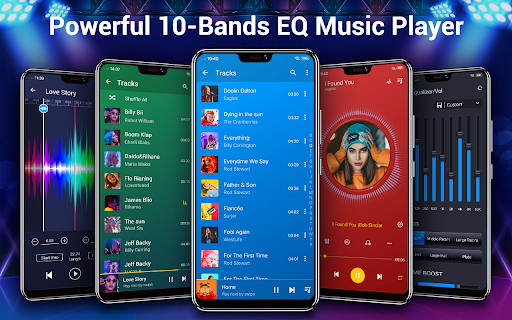 Music Player - Audio Player & 10 Bands Equalizer android2mod screenshots 1