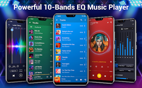 Music Player - Audio Player & 10 Bands Equalizer 2.0.1 Screenshots 1