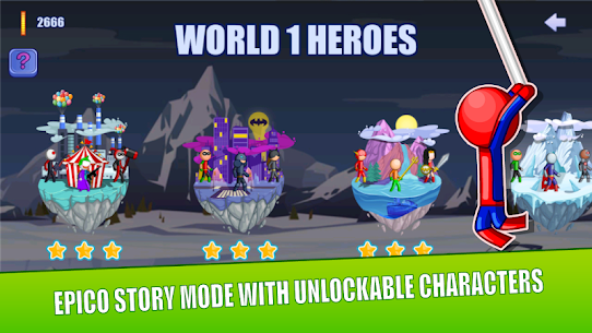 Stick Fight Online: Multiplayer Stickman Battle Mod Apk 2.0.36 (Unlimited Money) 5