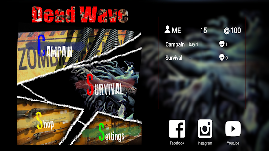 Dead Wave – AR Zombie Shooter Hack for iOS and Android 1