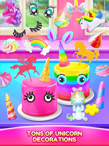 Unicorn Food - Cake Bakery 2.1 Screenshots 16