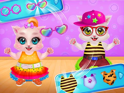 Kitty Care Twin Baby Game  screenshots 3