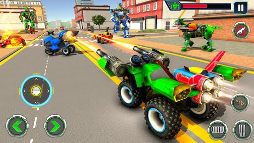 Goat Robot Transforming Games: ATV Bike Robot Game screenshots 14