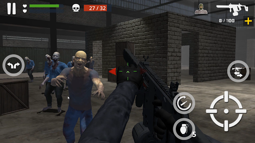 Télécharger Dead Zombie Battle (Green Blood Version) APK MOD (Astuce) screenshots 5