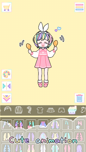 Pastel Girl : Dress Up Game 2.4.8 Screenshots 4