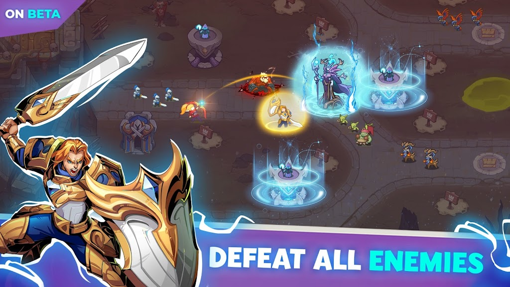 Empire Defender TD: Tower Defense Strategy Game TD poster 1