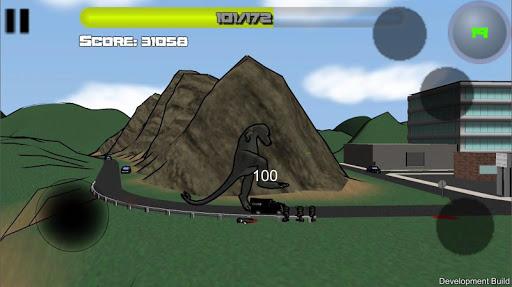 Attack of the Giant Mutant Lizard  screenshots 5