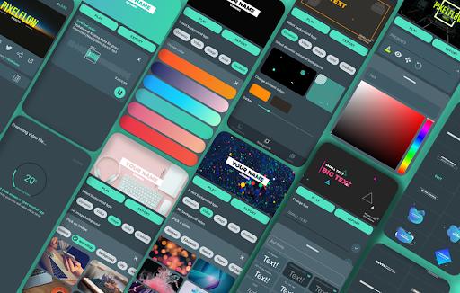 PixelFlow - Intro maker and Animation Creator  Screenshots 2