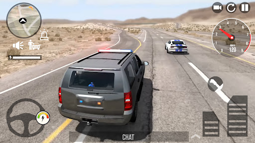 Police Car Simulator 2022 Cop Racing Multiplayer  screenshots 1