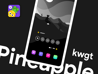 Pineapple KWGT Screenshot