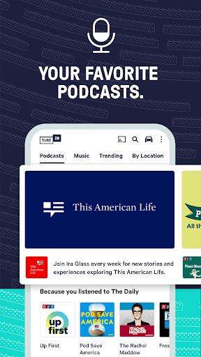 TuneIn Radio: News, Sports & AM FM Music Stations screenshots 6