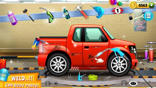 Modern Car Mechanic Offline Games 2020: Car Games apkslow screenshots 7
