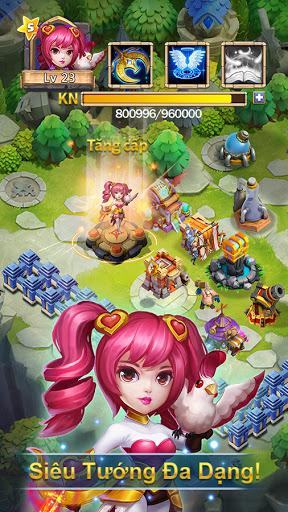 Castle Clash: Quyu1ebft Chiu1ebfn-Gamota 1.5.5 Screenshots 2
