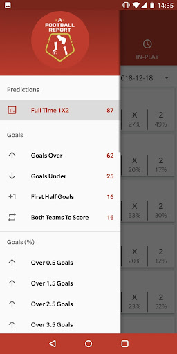 Football Tips & Stats - A Football Report 2.6 Screenshots 2