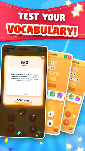 Wordly: Link Together Letters in Fun Word Puzzles apkmr screenshots 8