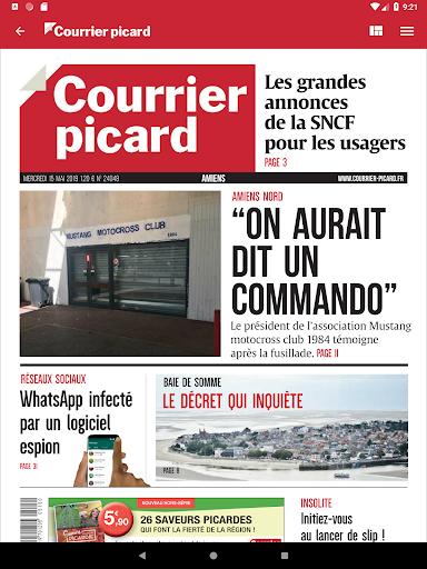 Courrier Picard : l'info locale, France et monde 5.19.2 screenshots 10