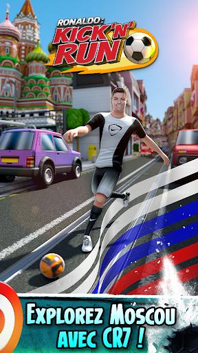 Télécharger Cristiano Ronaldo: Kick'n'Run – Football Runner APK MOD (Astuce) screenshots 1