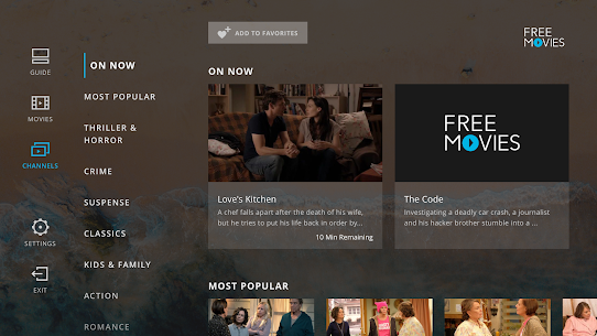 XUMO for Android TV: Free TV shows & Movies 3