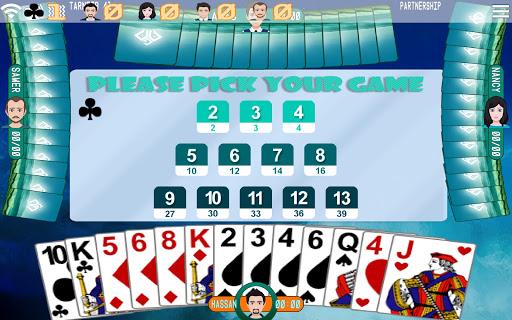 Golden Card Games (Tarneeb - Trix - Solitaire) 21.0.1.25 Screenshots 4