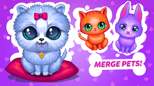 Merge Cute Animals 2: Pet merger  screenshots 6