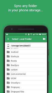 Autosync for Google Drive Screenshot
