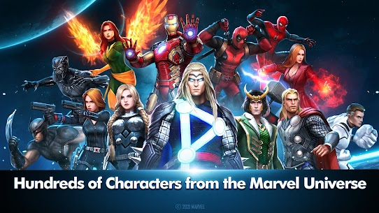 Marvel Future Fight MOD Apk [Unlimited Gold/Crystals/Money] For Android 1