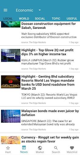 StockHunter - KLSE ( Bursa ) apktram screenshots 7