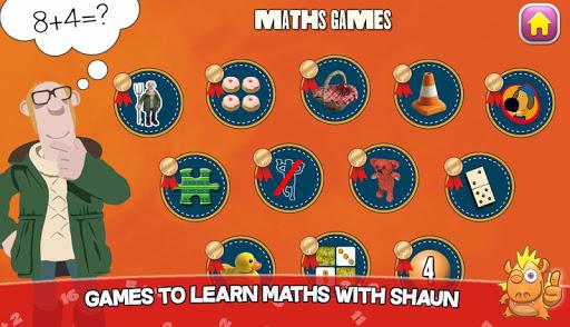 Shaun learning games for kids 10.6 screenshots 10