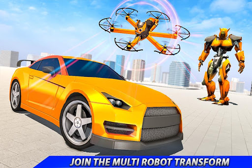 Drone Robot Car Transforming Gameu2013 Car Robot Games 1.1 Screenshots 3