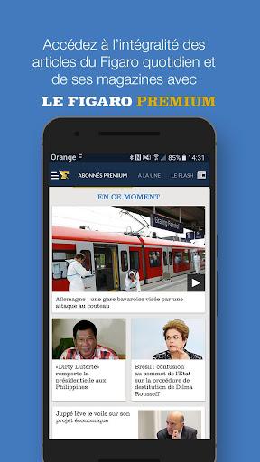 Le Figaro.fr: Actu en direct 5.1.25 Screenshots 5