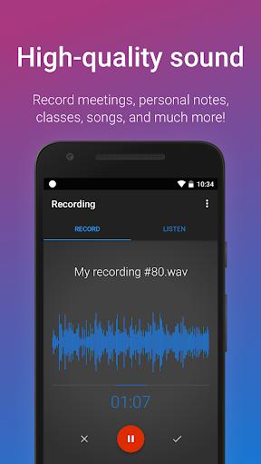 easy voice recorder screenshot 2