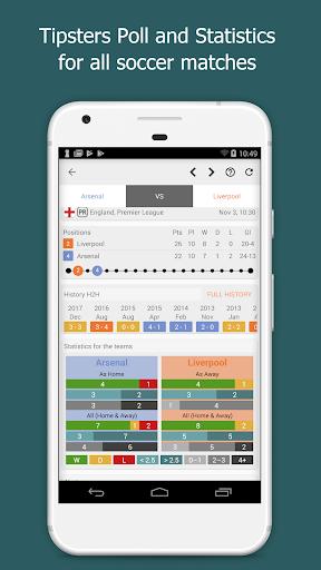 Bet Data - VIP Betting Tips, Stats, Live Scores 4.1.1 Screenshots 2