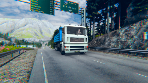 Euro truck simulator 2021: New truck driving games  screenshots 2