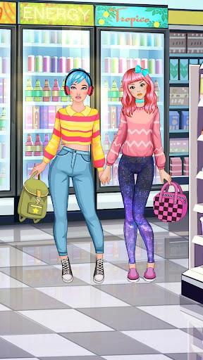 BFF Shopping Day - Games for Girls screenshots 13