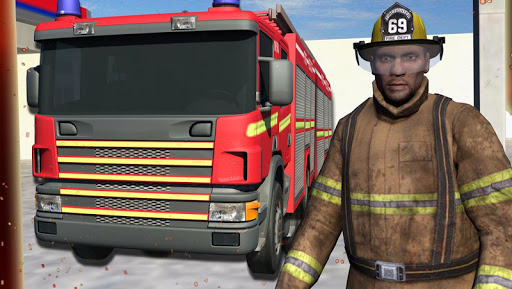 real hero firefighter 3d game screenshot 1