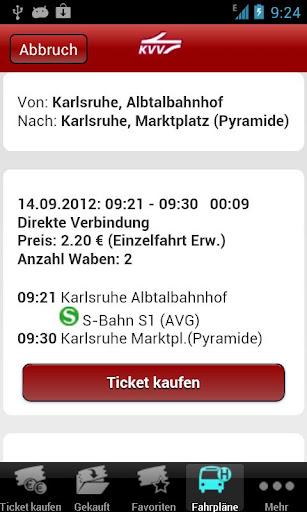 KVV.ticket  screenshots 4