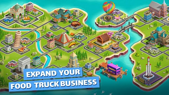 Food Truck Chef Mod Apk (Unlimited Money/Crystals) 4