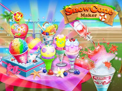 Snow Cone Maker - Frozen Foods 2.2.0.0 Screenshots 1