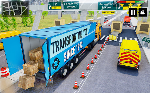 Cargo Delivery Truck Parking Simulator Games 2020 android2mod screenshots 3