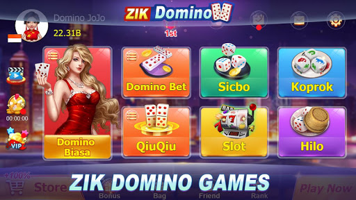 Domino Rummy Poker Sibo Slot Hilo QiuQiu 99 Gaple apklade screenshots 1