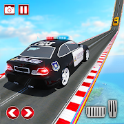 Police Ramp Car Jumping Extreme City GT Car Racing