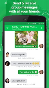 textPlus: Free Text & Calls Screenshot