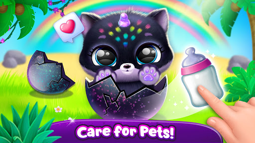 Fluvsies Pocket World - Pet Rescue & Care Story apkpoly screenshots 5