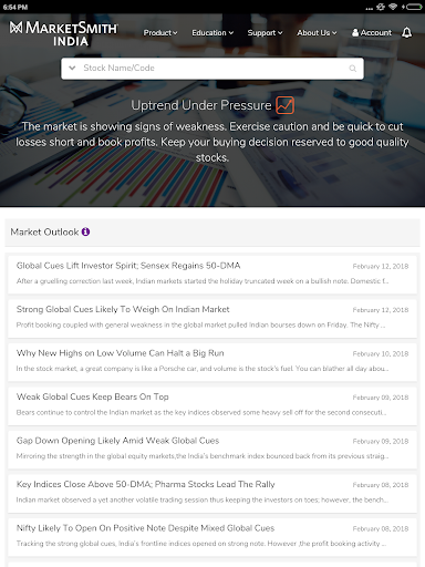 MarketSmith India - Stock Research & Analysis android2mod screenshots 15