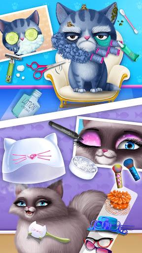 Cat Hair Salon Birthday Party - Virtual Kitty Care 8.0.80007 screenshots 5