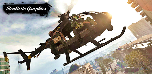 Screenshot of Modern Gunship Strike : Air Attack Helicopter Game