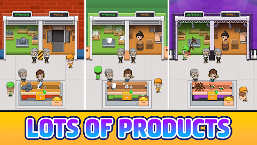 Idle Factory Tycoon: Business!  screenshots 3