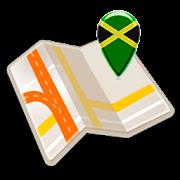 Map of Jamaica offline
