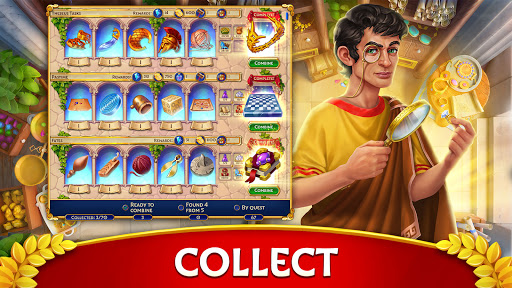 Jewels of Rome: Gems and Jewels Match-3 Puzzle  screenshots 19